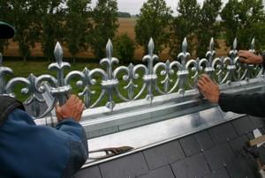 Delaforge couverture etancheite zing bardage oise 60 for Ornement de toiture en zinc